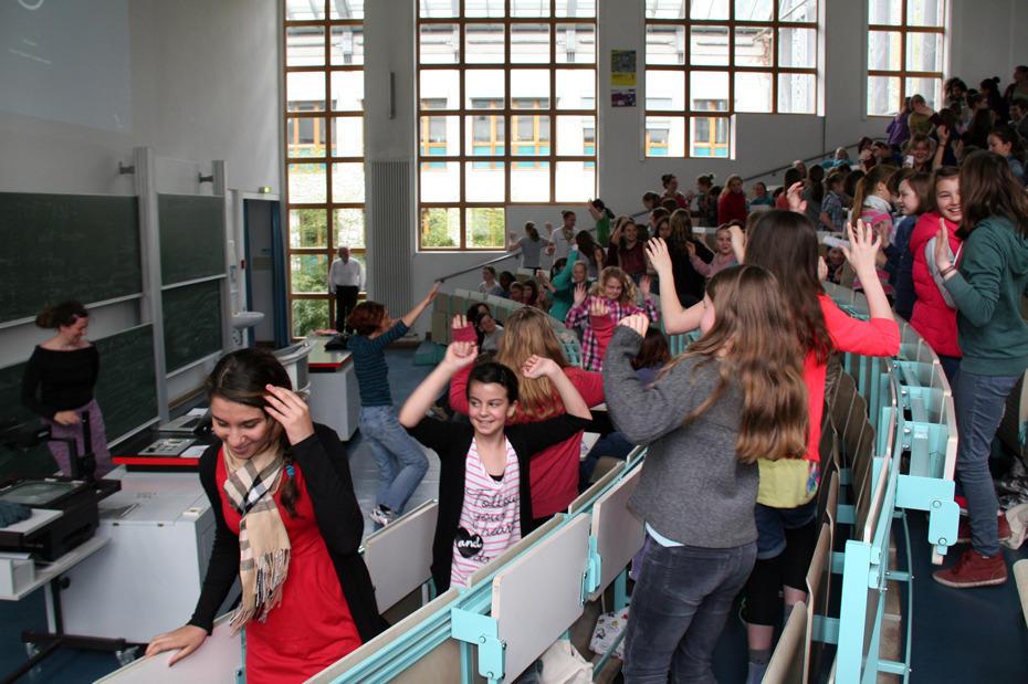 Mädchen Mögen Mathematik Campusleben Freie Universität Berlin