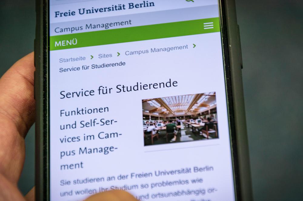 Campusmanagement Fu Berlin