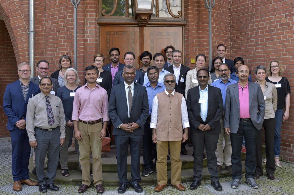 Die Wissenschaftler aus Deutschland und Indien waren in Berlin zum Kick-Off-Meeting zusammengekommen.