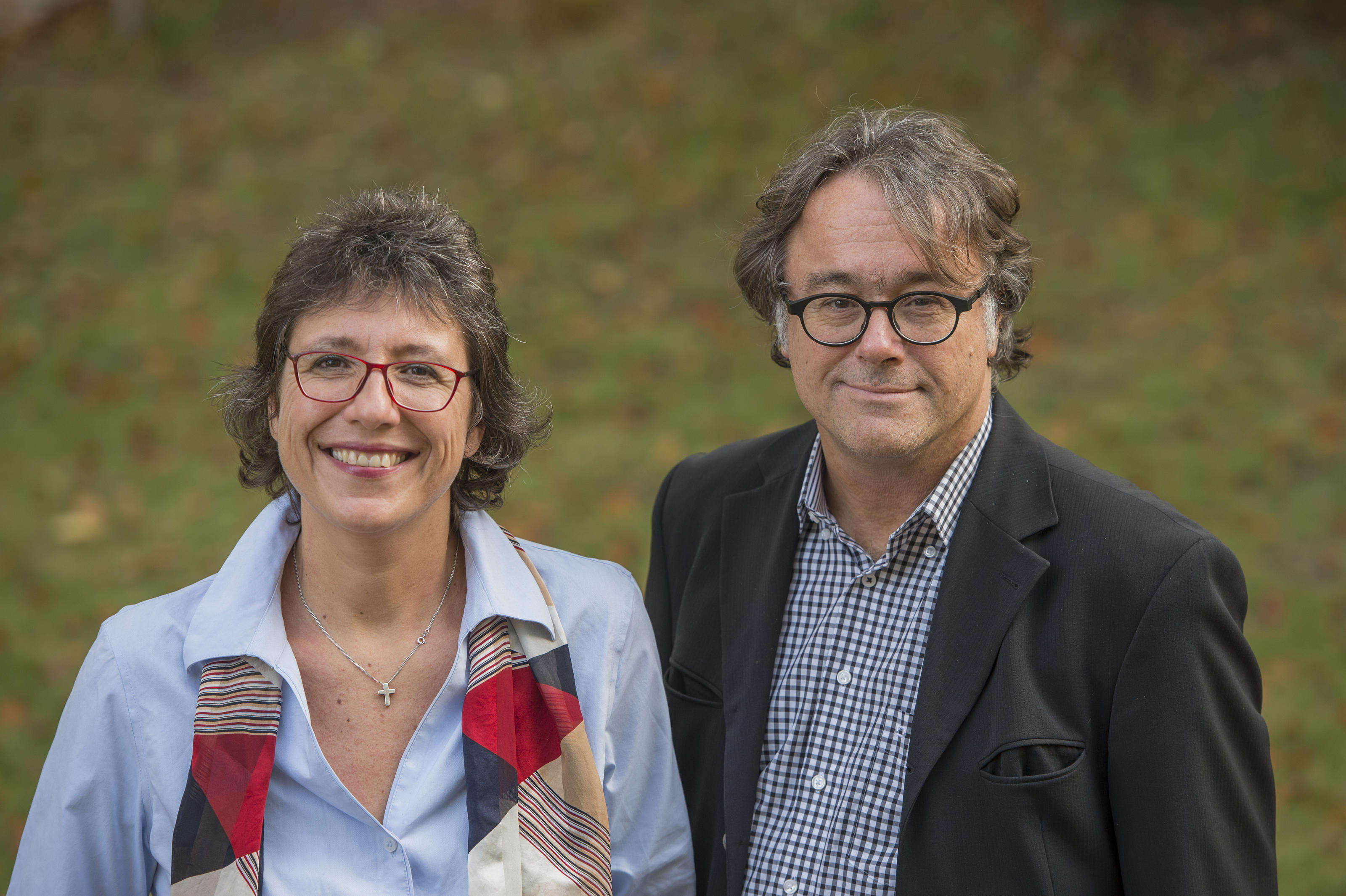 Professors Tanja Börzel and Michael Zürn, spokespersons for the SCRIPTS cluster of excellence.