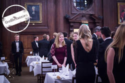 Helena Winterhager beim Dinner der Oxford Scandinavian Society am Somerville College.