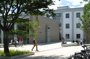 The Department of Law at Freie Universität is located at Van't-Hoff-Str. 8 in Dahlem.