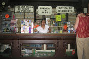 At LAI, one area being investigated is new forms of social inequalities or aspects of multicultural coexistence in cities. The picture shows a European pharmacy in Mexico, dating from the 19th century.