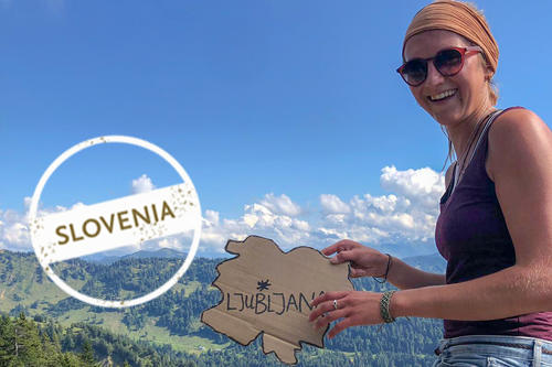 From Swabia to Ljubljana: while in Slovenia, Sonja Poschenrieder hopes to find traces of her grandmother's past.