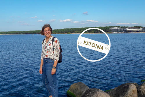 "Our first contributor to this round of ""Letters from..."": Elena Ruhtenberg is spending a semester in Tallinn, the capital of Estonia."