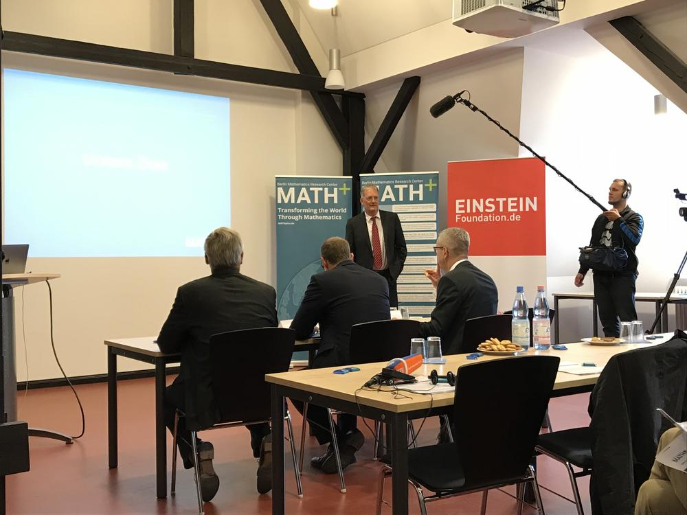 Christof Schütte, a professor of numerical mathematics at Freie Universität and president of the Zuse Institute Berlin, talks about the work being done in the Cluster of Excellence MATH+, where he serves as a spokesperson.