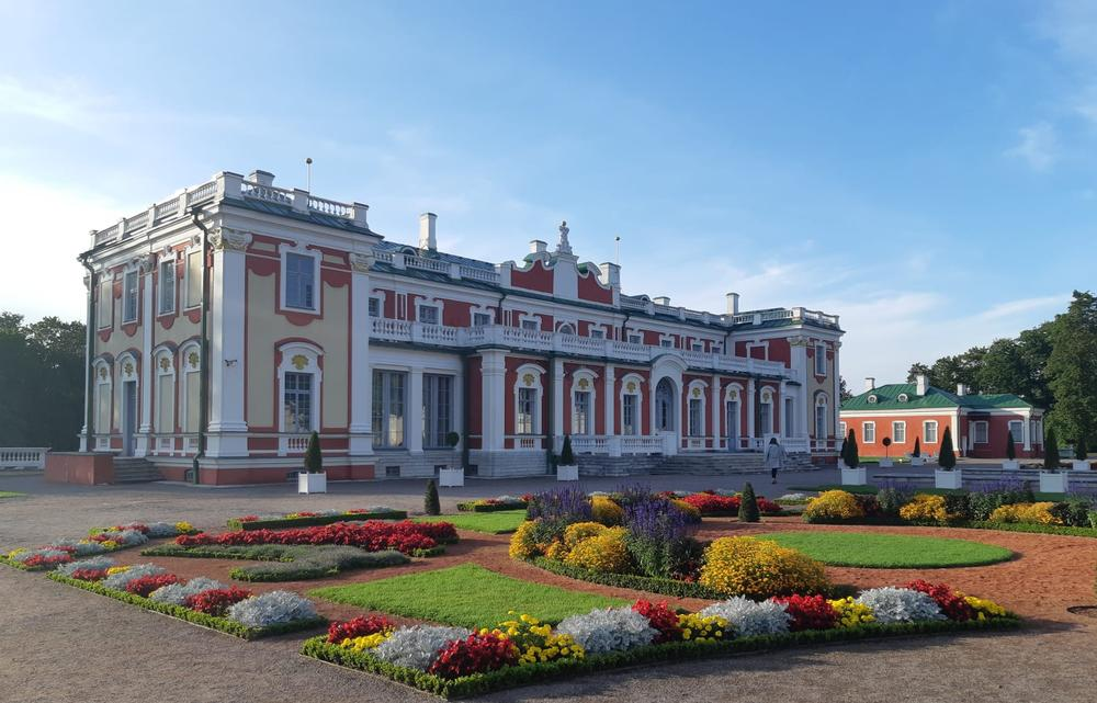 Kadriorg Palace was built by Peter the Great for Catherine I. Now it is an art museum.