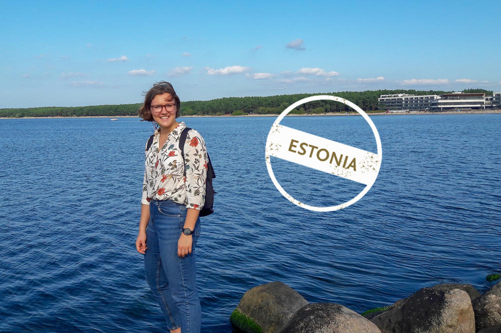 Elena Schulz-Ruhtenberg loves having the sea right outside her new front door. The political science student has been in Tallinn since the end of August.