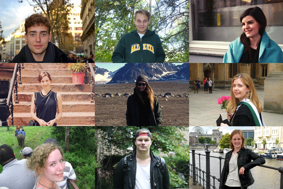 Letters from... all over the world: A nine-person group made up of students, doctoral candidates, and an apprentice will be reporting on their impressions and experiences in other countries in this new campus.leben section over the next few months.
