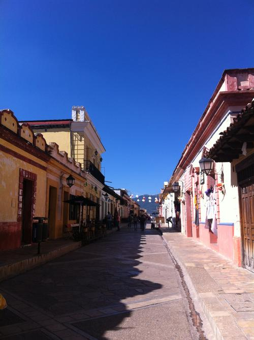 Estefanía González says the city of San Cristobal de las Casas has a spiritual character.