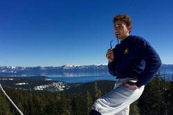 Our author Louis Potthoff takes a moment while skiing in northern California to reflect on his semester abroad.