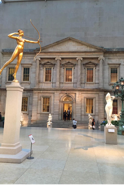 Columbia University students receive free admission to the Metropolitan Museum of Art.