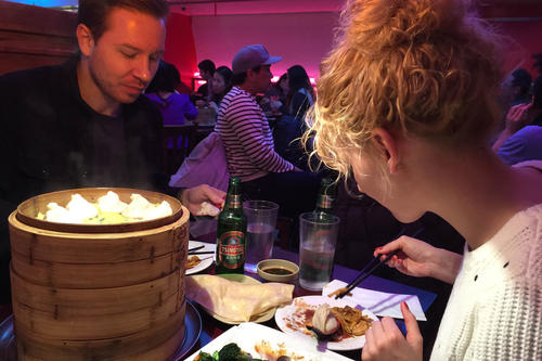 The best Asian restaurants in New York are located in Chinatown.