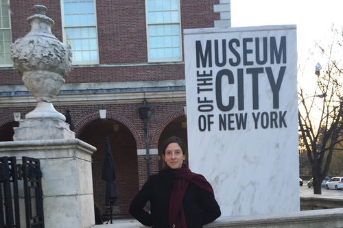 Before Luise Müller sets out to explore all of New York's five boroughs first hand, she visits the Museum of the City of New York for a first impression.