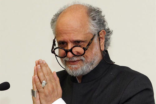 Homi Bhabha at Freie Universität Berlin on May 31, 2012.