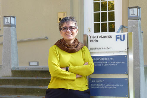 The Canadian political scientist Verónica Schild is the first international visiting professor of gender studies at Freie Universität Berlin.