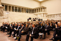 Inauguration ceremony of TOPOI in the Pergamon Museum