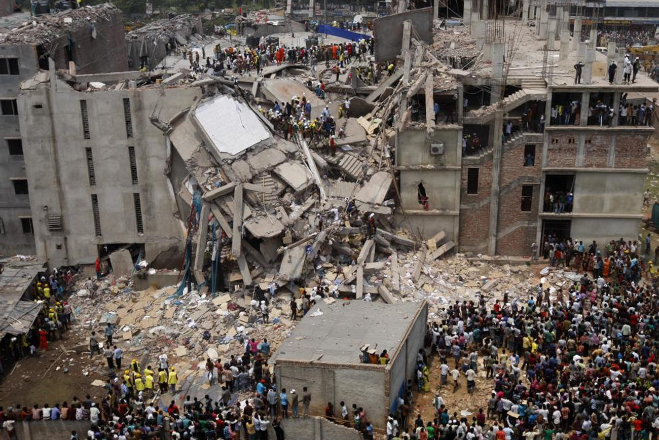 April 2013: More than 1,100 people were killed and 2,400 injured in the worst accident in the history of the textile and apparel industry.