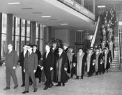 Celebrations were held at Freie Universität Berlin on the 100th birthday of Friedrich Meinecke in 1962.