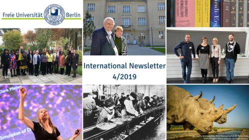 Read Now: Our new issue of the International Newsletter