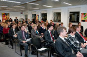 Audience at the launch of the EU Liaison Office of Freie Universität Berlin in Brussels, 1 December 2009