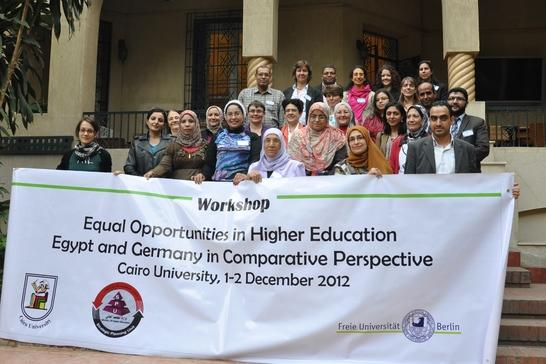 Workshop in Cairo, December 2012