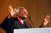 Desmond Tutu, winner of the Freedom Prize in 2009, is a living symbol of freedom and reconciliation.