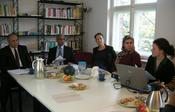 The Presidents of Sohag and South Valley University visited the Chief Gender Equality Officer at FU Berlin together with project members