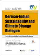 Poster Workshop German-Indian Sustainability and Climate Change Dialogue