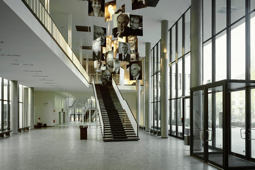The foyer of the renovated Henry Ford Building