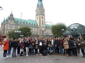During an excursion to Hamburg.