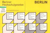 With the passing of a new set of laws for all universities in Berlin, the balance of power in the institute and at Freie Universität as a whole started to change.