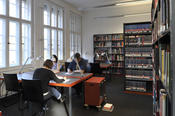 The Grant Program, founded in 1979, provides financial support to both advanced scholars and Ph.D. students who, in the context of their research endeavors, require physical access to the extensive holdings of the library in Berlin-Dahlem.