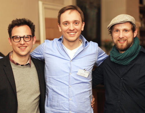 Mentor Sascha Weiler, Founder of Cascanda, helped the start-up team redcyan find an investor.