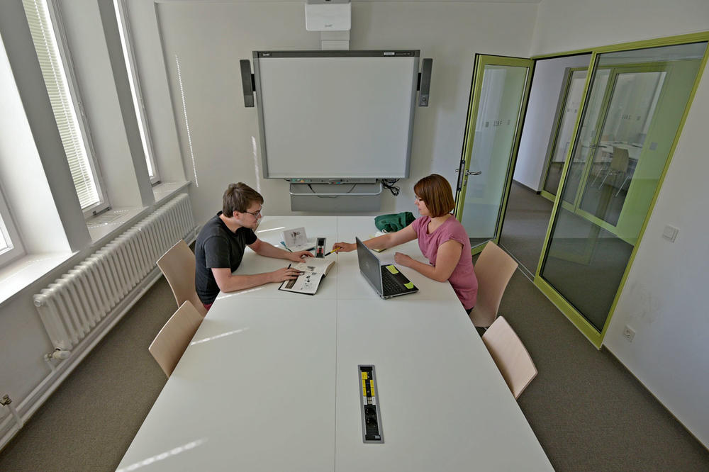 Group Study Room with Smartboard