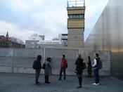 ZDS students at the Berlin Wall Memorial