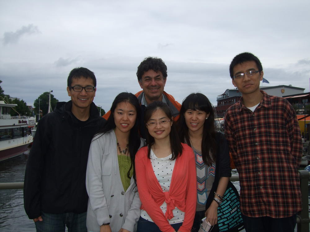 Prof. Dr. Reinhard Singer (HU Berlin) with ZDS students in his hometown Rostock.