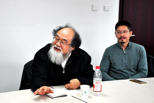 ... and Prof. Dr. Jin Xiping (Philosophy).