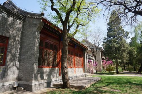 The building complex on the campus of Peking University in which also the premises of the ZDS Peking are located.