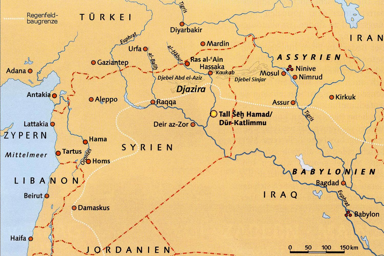 Konige Der Finsternis Karte.Zum Erhalt Assyrischer Lehmbauten In Tell Schech Hamad
