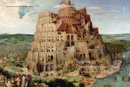 Babylon Dimensionen Einer Stadt Stabsstelle Presse Und Kommunikation Freie Universitat Berlin