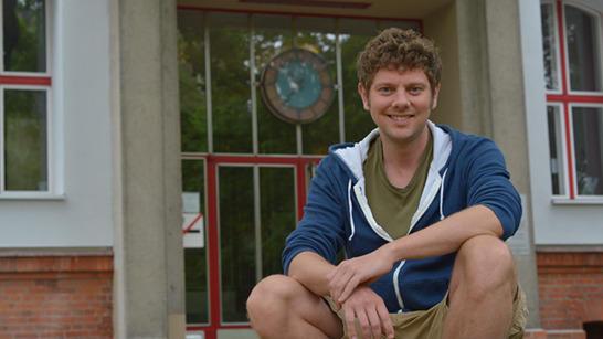 Philipp Möller schreibend die welt verbessern stabsstelle presse und
