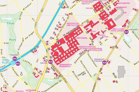 Dahlem Campus • Freie Universität Berlin