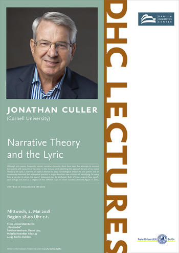 DHC Lecture Jonathan Culler