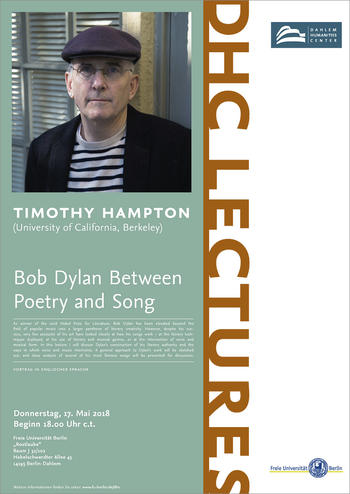 DHC Lecture Timothy Hampton