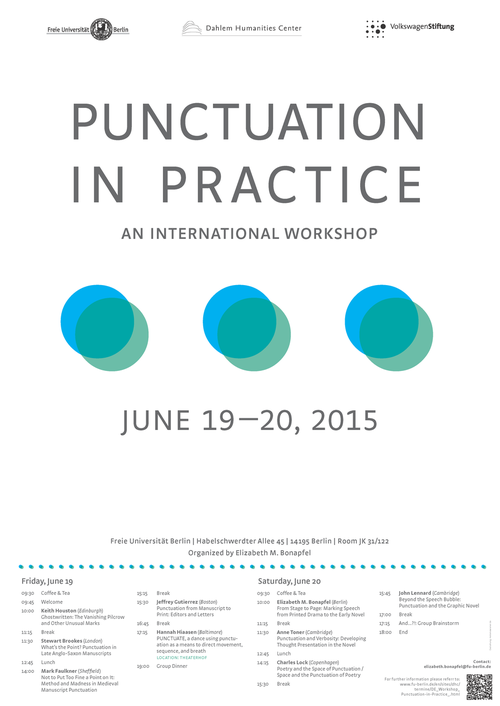 Punctuation in Practice