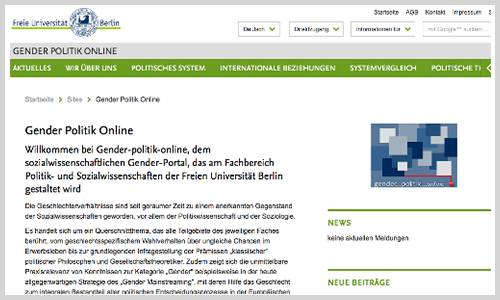 Gender Politik Online (Screenshot)