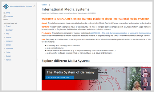 "Wiki ""International Media Systems"" (Screenshot)"