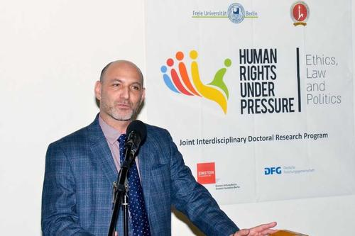 "Prof. Tomer Broude ist der Sprecher der Hebrew University des Kollegs ""Human Rights under Pressure""."