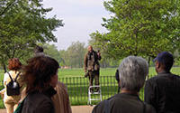 Speaker's Corner, Hyde Park London